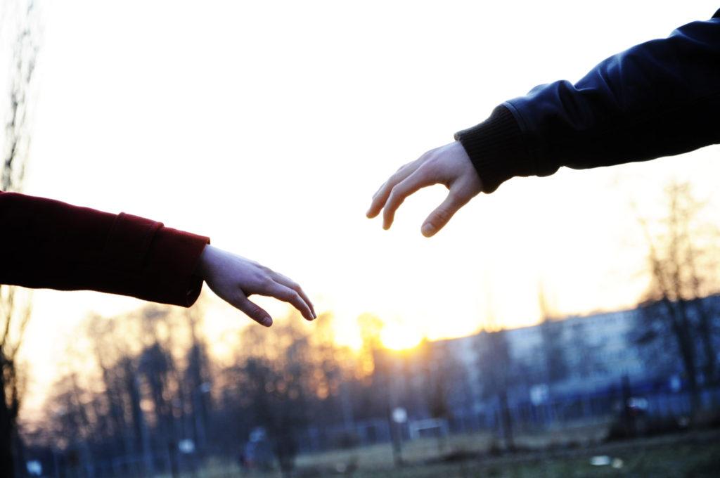 Ruce dvou milenců