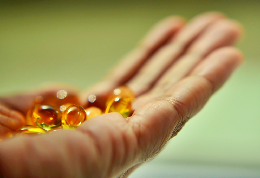 Dlaň nabízí magické pilulky