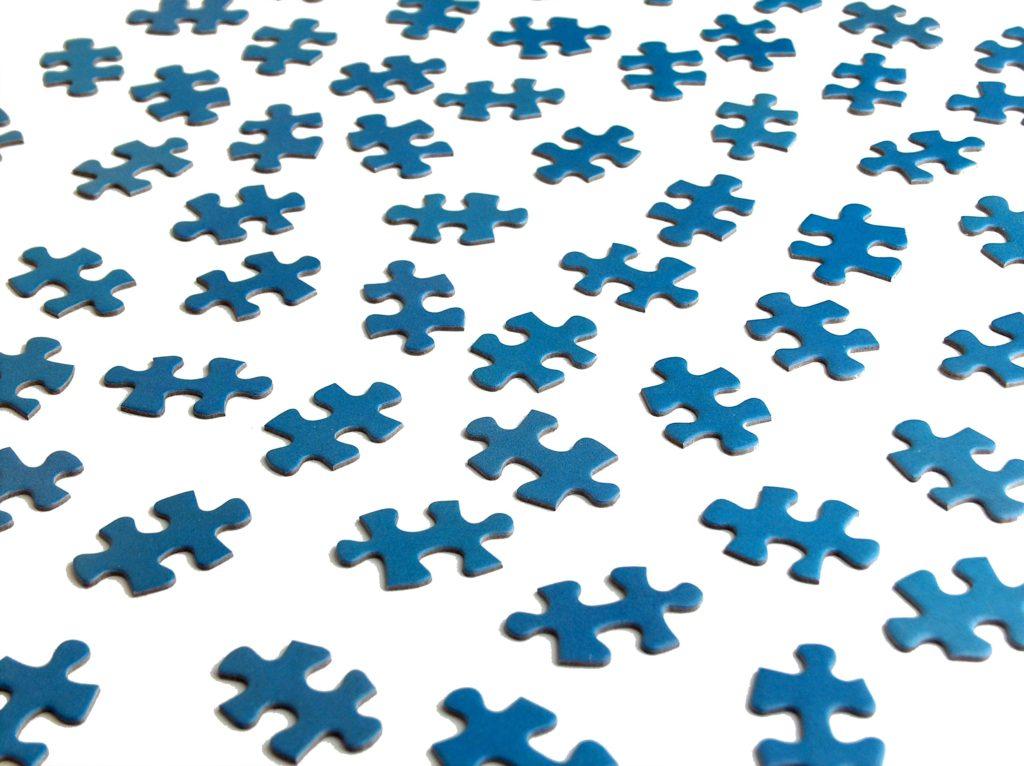 Kousky puzzlí
