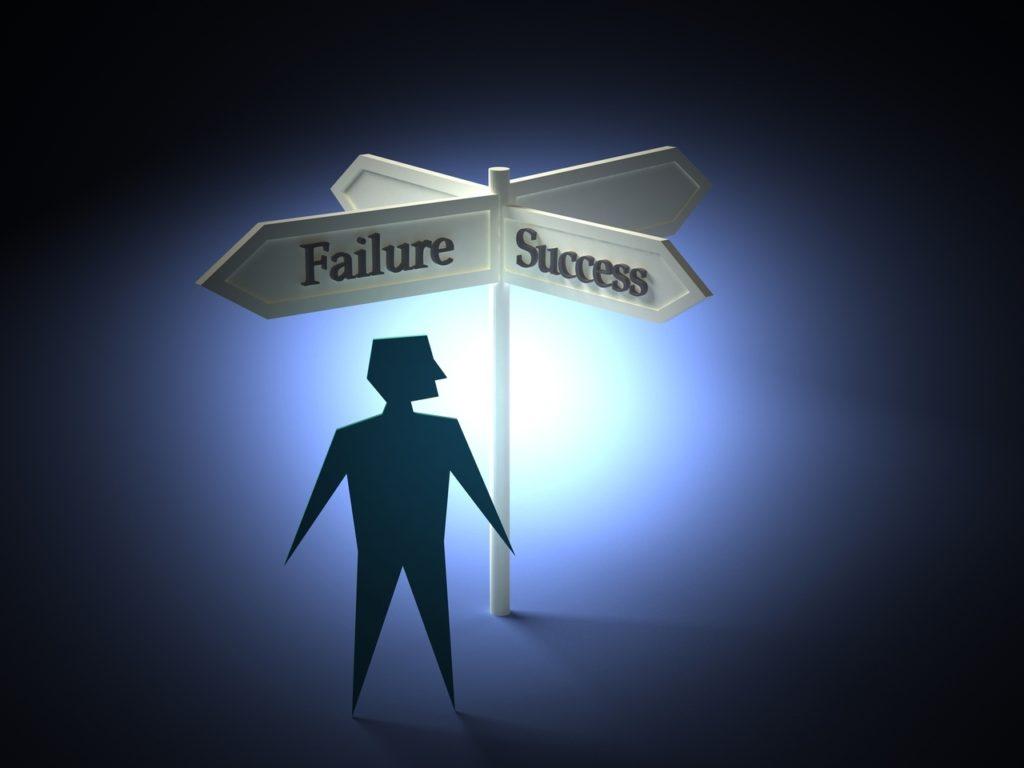 Volba úspěchu nebo selhání