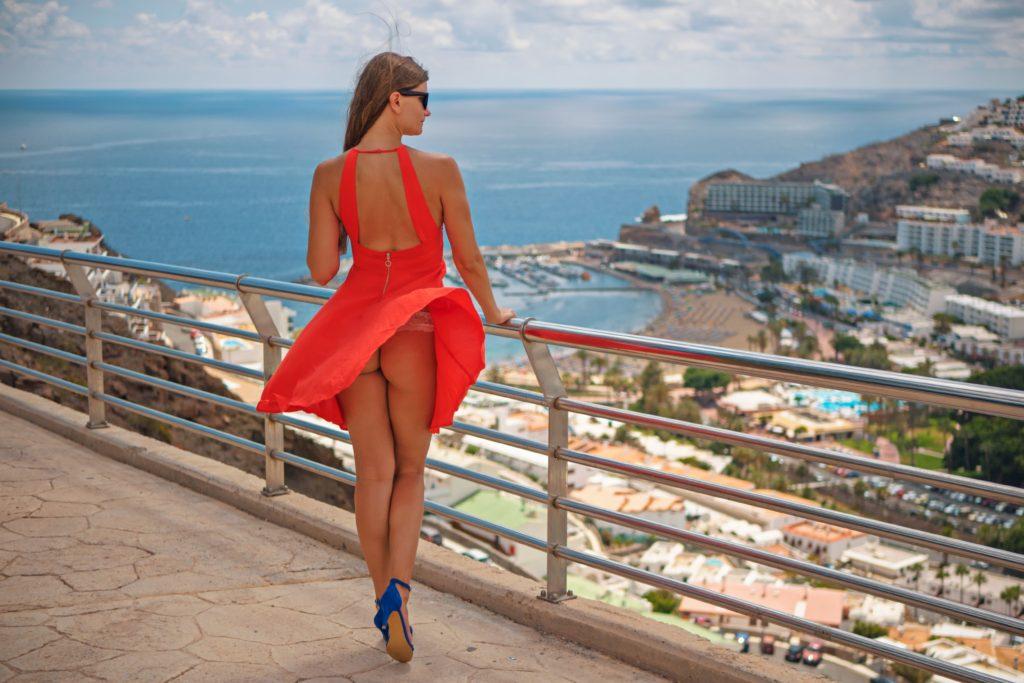 Žena na dovolené
