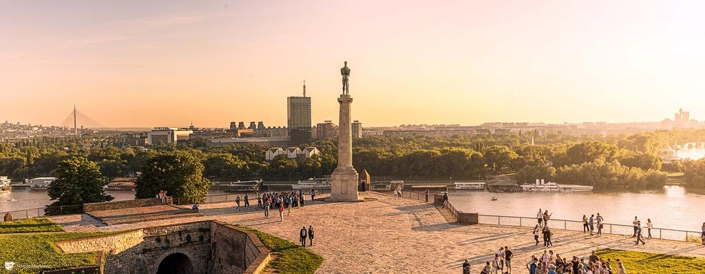 Kalemegdan v Srbském Bělehradě